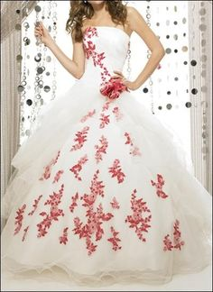 Princess ball gown wedding dress, you like it?