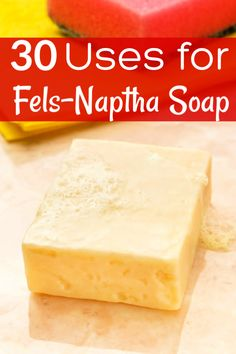 Fels-Naptha soap has a ton of uses that can make your life easier! These 30 ways to use Fels Naptha are the perfect cleaning hacks perfect for introducing you to this amazing soap and helping you get your home and family clean and organized! Deep Cleaning Tips, House Cleaning Tips, Natural Cleaning Products, Cleaning Hacks, Cleaning Carpets, Cleaning Recipes, Green Cleaning, Car Cleaning, All You Need Is