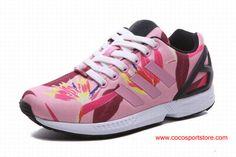 1ab60e70a64 Adidas Originals ZX Flux Floral Pink For Women Zx Flux Floral, Latest Adidas  Shoes,