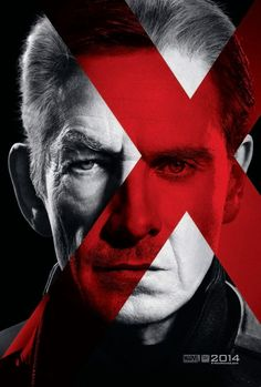 One of two new posters for X-Men: Days of Future Past. This one featuring Magneto, played by Sir Ian McKellen & Michael Fassbender.