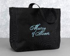 Tote - Matron of Honor Flourish Tote Bag