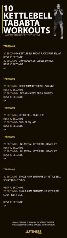 Tabata workouts are HITT based and can give you a full body workout in less time than other options. Fitness Workouts, Tabata Workouts, Easy Workouts, At Home Workouts, Fitness Motivation, Cardio, 300 Workout, Couple Workout, Kettlebell Routines