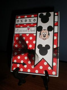 SC474-XO MICKEY MOUSE! by coffeestamper - Cards and Paper Crafts at Splitcoaststampers