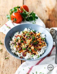 Kidneybohnen a la Afrika (vegan) || eat-this.org