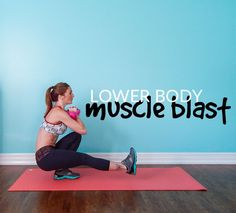 The last workout I posted as an awesome 35 minute Upper Body Muscle Burn Workout and now today I'm hitting the lower body with this killer Lower Body Muscle Blast Workout! EQUIPMENT USED: + 2…