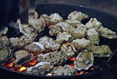 Huîtres au barbecue