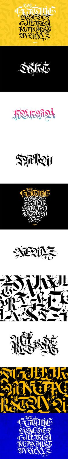- Web & Graphic Design on SVG Ninja Gothic Fonts, Tattoo Lettering Fonts, Poster Templates, English Alphabet, Beautiful Fonts, Vector Format, Ninja, Letters, Graphic Design