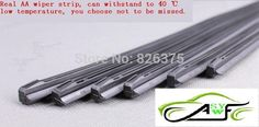 """Free Shipping High Quality Car Wiper Blade Strips Wiper Blades Windscreen Soft Wipers Rubber Size14"""" 16"""" 17"""" 18"""" 19"""" 22"""" 24"""" 26"""""""