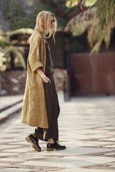 How to wear kimono fall casual Ideas for 2019 Look Fashion, Autumn Fashion, Fashion Outfits, Womens Fashion, Earthy Fashion, Looks Style, Style Me, Look Street Style, Street Styles