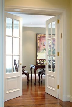 The therma tru smooth star 3 4 lite 1 panel door comes in for Porte francaise