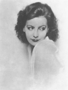 Greta Garbo by Ruth Harriet Louise, 1926