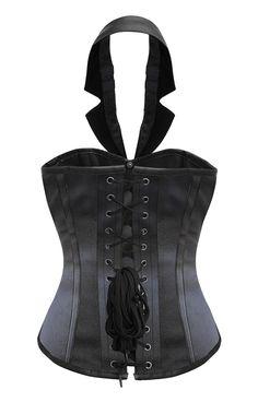 The Violet Vixen - Vampiric Vixen Veil Black Corset, $144.00 (http://thevioletvixen.com/corsets/vampiric-vixen-veil-black-corset/)