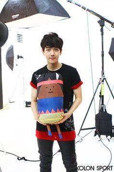 Baekhyun for kolon sport #exo