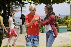 Ross Lynch (Brady) and Maia Mitchell (McKenzie/Mack) #TeenBeach2