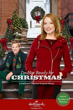 I'm Not Ready For Christmas is a 2015 Hallmark Channel Original Movie starring Alicia Witt, George Stults, Brigid Brannagh, Maxwell Caulfield, Mia Bagley and Dan Lauria. Plot: Holly's world is turned upside down when her niece's wish to Santa Claus comes true and she cannot tell a lie. As her career and love life go into disarray, she must learn to judge between the truth and what is right. Genre: Romance, Comedy.