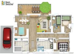 3D Floor Plans help potential home buyers to visualize their next home. Show how a property can be furnished, so buyers see it's potential easily. http://www.roomsketcher.com/features/3d-floor-plans/  #newhome #floorplans #sellinghomes #realestate