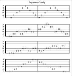 Easy Guitar Chords   Guitar tabs for beginners
