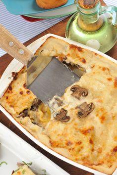 Xnet - מתכוני לזניה חלבית: עם גבינות, חצילים, תרד או פטריות
