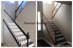 How to Paint Stair Rails Like a Pro
