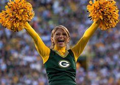 Green Packers cheerleaders & girls- 16