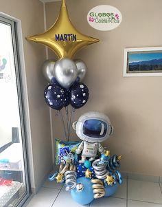 2nd Birthday Party Themes, Birthday Balloons, Balloon Decorations Party, Birthday Decorations, Space Party, Space Theme, Balloon Arrangements, Balloon Bouquet, Instagram