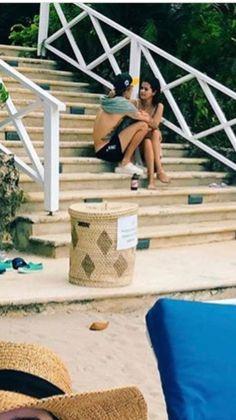 February 19, 2018: Justin Bieber and Selena Gomez in Jamaica.