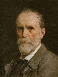 Self-Portrait, 1908 (Albert Anker) (1831-1910) Kunstmuseum Bern  (Resembles an older Robert Duvall)