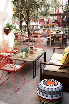 Patio at Cucina Enoteca in Irvine