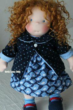 a lively girl by North Coast Dolls. -What& a lively girl by North Coast Dolls. Girl Dolls, Baby Dolls, Dream Doll, North Coast, Sewing Dolls, Doll Maker, Waldorf Dolls, Soft Dolls, Cute Dolls