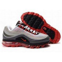 http://www.asneakers4u.com/ 397292 005 Nike Air Max 24 7 White Grey Red D04006