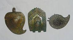 Lot 3 Antique Ethnic Greek Macedonian Folk Costume Bronze Parts of Belt Buckles | eBay