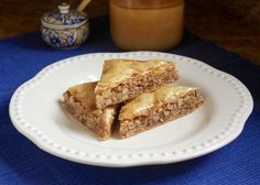 Honey Walnut Baklava (recipe keeps pastry crisp and not soggy)