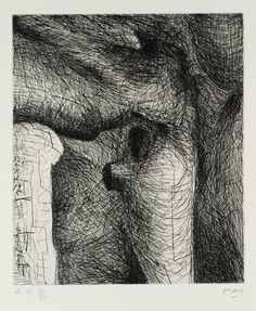 Henry Moore OM, CH 'Elephant Skull Plate IX', 1969 © The Henry Moore Foundation, All Rights Reserved, DACS 2014