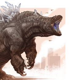 kaiju revolution baragon by transapient bestiary in 2019
