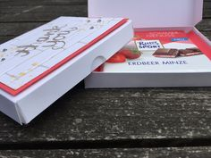 Anleitung Verpackung für Ritter Sport mit Watercolor Wings von Stampin´ Up!