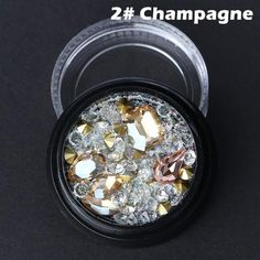 Strass Nail Art Decorations Mixed Nail Crystals Rhinestones Beads Manicure  Tips 50491842f7d3
