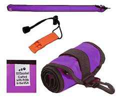 Purple 6 ft Scuba Diving Dive Signal / Marker Tube with Inflator, (safety sausage) Crafted in the USA - http://scuba.megainfohouse.com/purple-6-ft-scuba-diving-dive-signal-marker-tube-with-inflator-safety-sausage-crafted-in-the-usa/