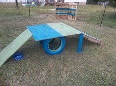 dog playground in 5 hrs, diy, how to, outdoor living, pallet, repurposing upcycling