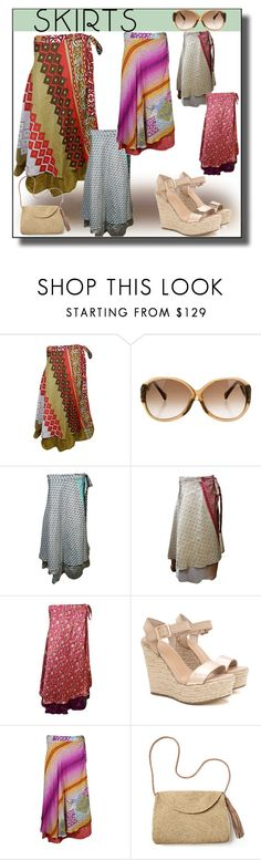"""""""Wrap Skirts FOR WOMEN WESTERN WEAR FASHION"""" by lavanyas-trendzs ❤ liked on Polyvore featuring Louis Vuitton and Mar y Sol"""
