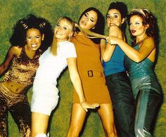 Spice Girls... A few of their songs are my guilty pleasure