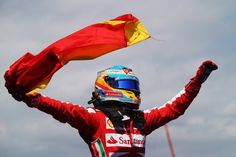 Fernando Alonso wins Grand Prix of Spain 2013