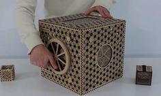 ¿Serías capaz de abrir esta caja secreta japonesa? #viral