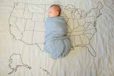 U.S. Map Quilt. I love it.