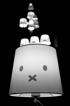 Amazing vintage #Miffy lamps.