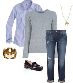"""Casual Day"" by classicprep on Polyvore"