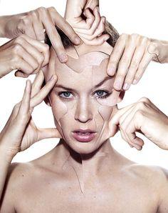 damienblottiere:  Vogue Paris / March 2013 / Beauty