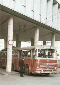 Filobus F4 al capolinea - Torino 1955…