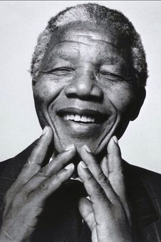 Nelson Mandela - Beautiful picture of a beautiful man #RIP