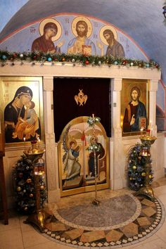 Orthodox Icons, Kirchen, Temples, Holi, Religion, Faith, Traditional, Architecture, Painting