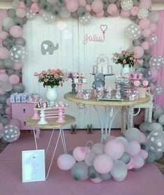 Little Known Secrets for Baby Shower Ideas for Girls Themes Elephant Babies . - Little Known Secrets for Baby Shower Ideas for Girls Themes Elephant Babyshower 28 – Diaper C - Deco Baby Shower, Fiesta Baby Shower, Grey Baby Shower, Shower Bebe, Baby Girl Shower Themes, Girl Baby Shower Decorations, Girl Decor, Baby Shower Gifts, Babyshower Themes For Girls